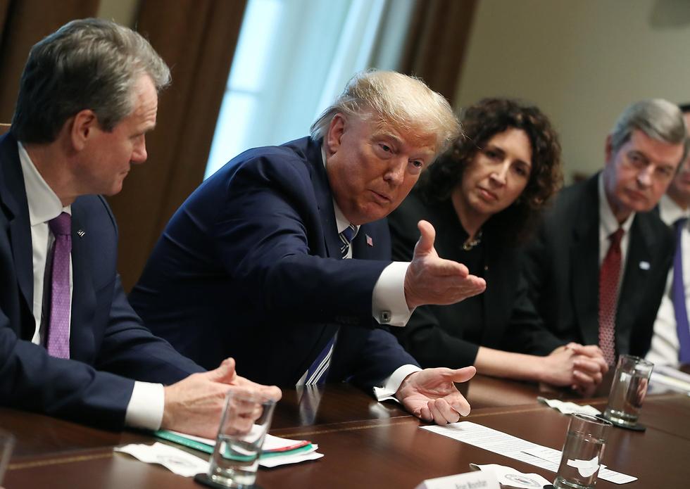 נשיא ארצות הברית דונלד טראמפ (צילום: gettyimages)