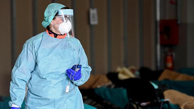 נגיף קורונה איטליה ברשה בית חולים (צילום: רויטרס)