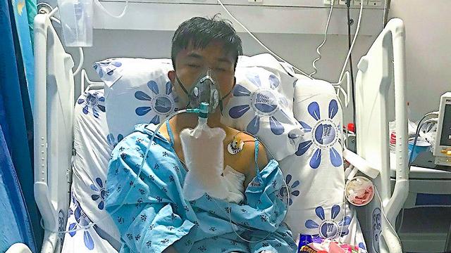 עולה חדש הותקף קשות בטבריה ע״י שני בריונים שסברו שהוא סיני (צילום: צבי חאוטה, ארגון שבי ישראל)