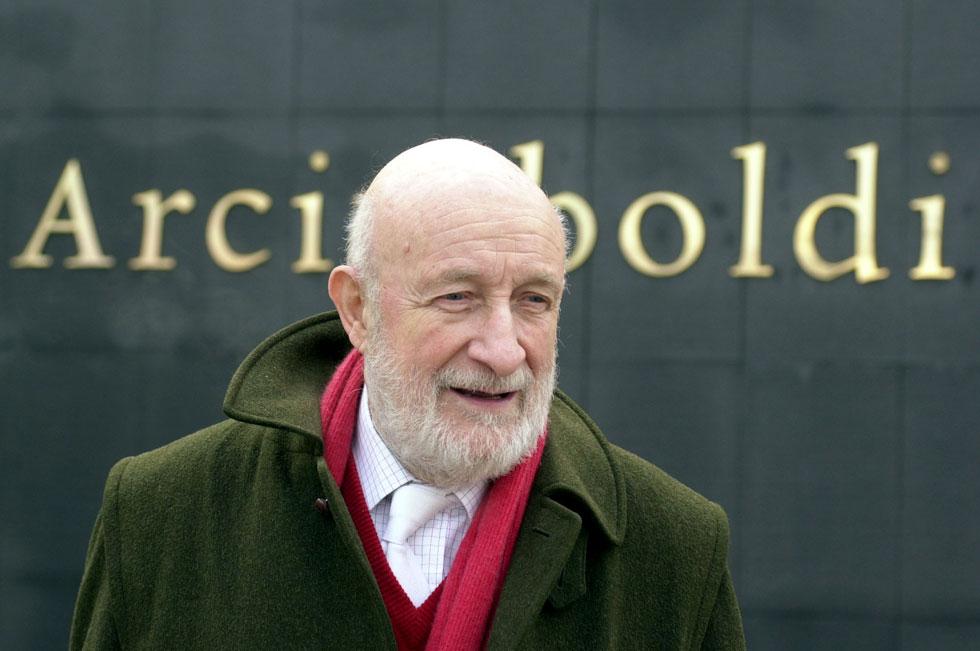 ויטוריו גרגוטי. יליד 1927, הוא למד בפוליטכניקו של מילאנו ופתח בקריירה בת 6 עשורים (צילום: AP)