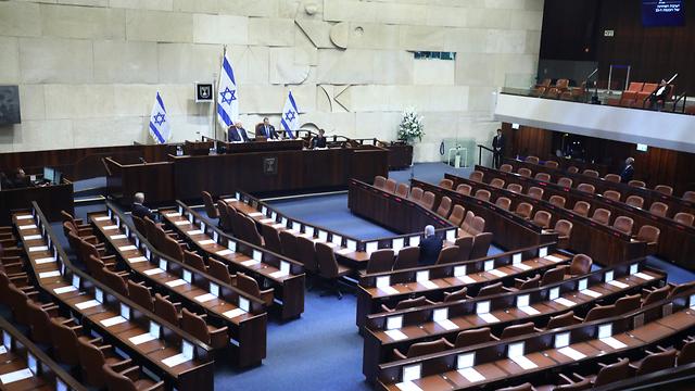בנימין נתניהו טקס השבעה השבעת הכנסת 23 מליאה מליאת הכנסת (צילום: דוברות הכנסת, גדעון שרון)