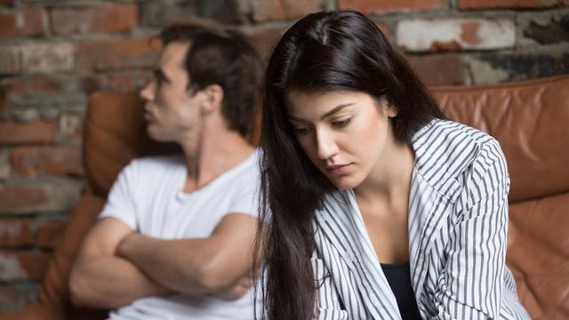 בני זוג במשבר (צילום: Shutterstock)