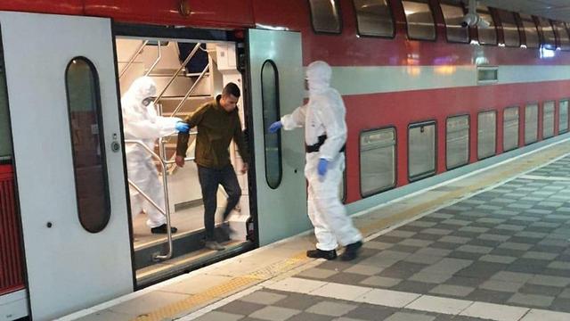 ברח מהמיון מהמיון ונתפס ברכבת ()