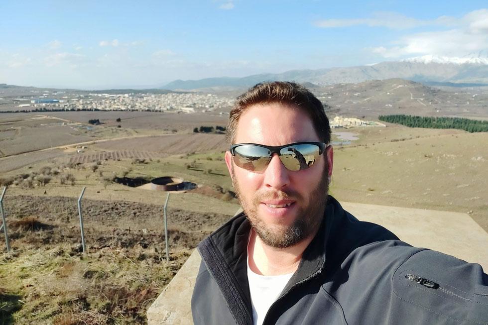 """ערן פאר, מנהל קהילת הטיולים והקמפינג של ישראל. """"מחבקים את החברים"""""""
