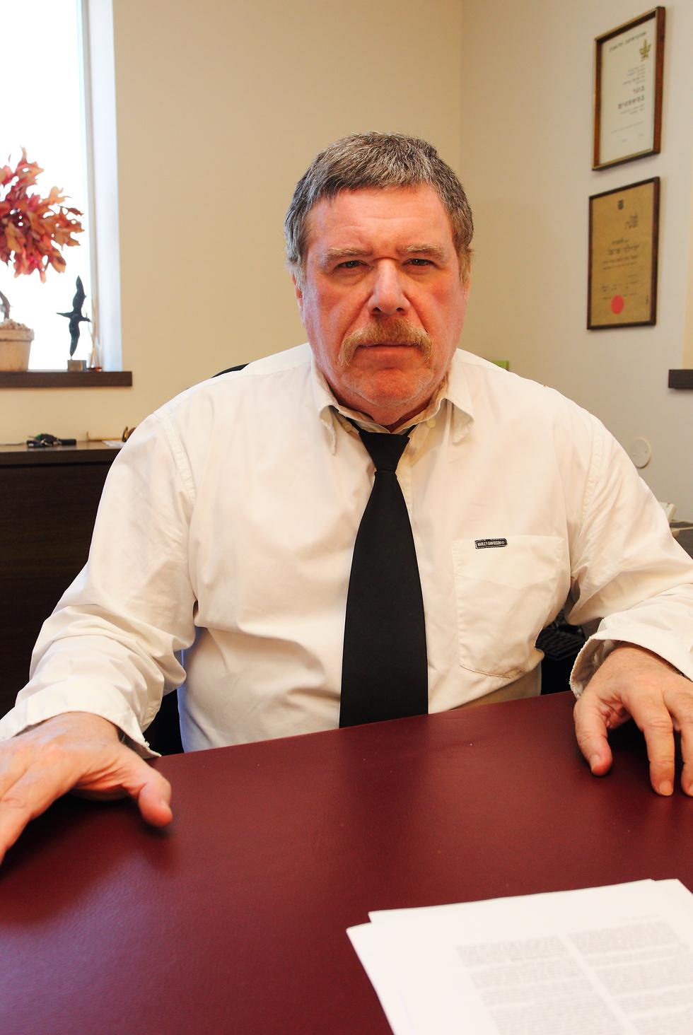 עורך הדין אריאל פרויליך (צילום: לירון מולדובן)