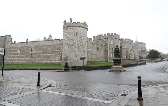 סגור לרגל נגיפים. ארמון בקינגהאם (צילום: Gettyimages)