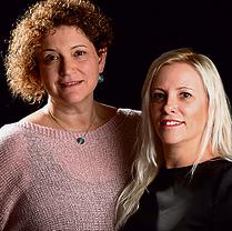 יעל קרן (מימין) ואילנית אלטברגר | צילום: בלאל חסדיה