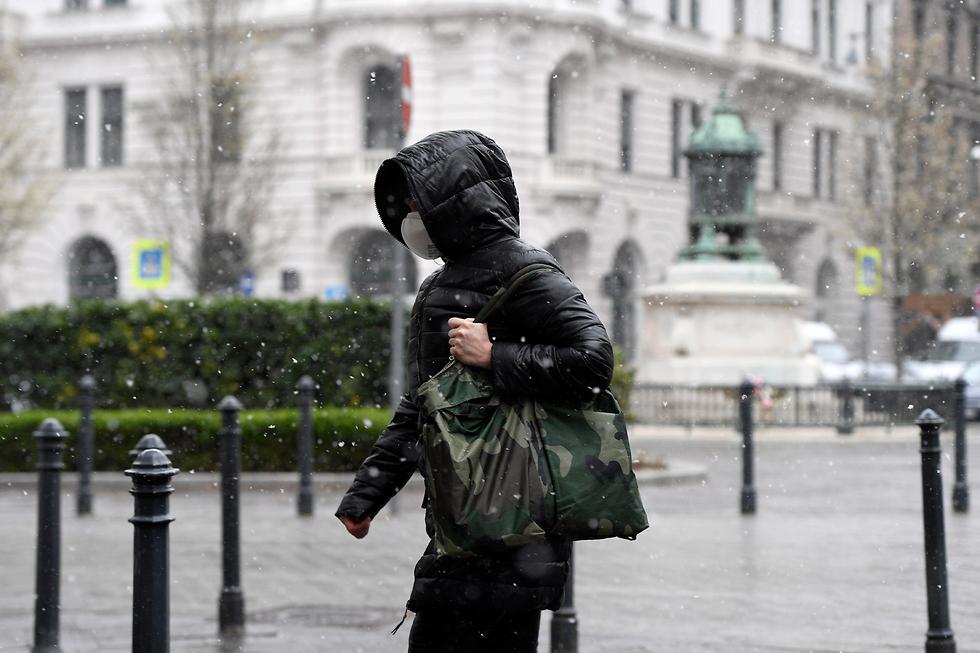 נגיף קורונה הונגריה בודפשט (צילום: EPA)