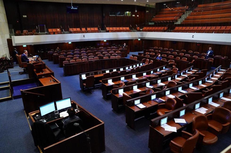 Зал заседаний кнессета. Фото: парламентская пресс-служба (צילום: דוברות הכנסת - שמוליק גרוסמן)