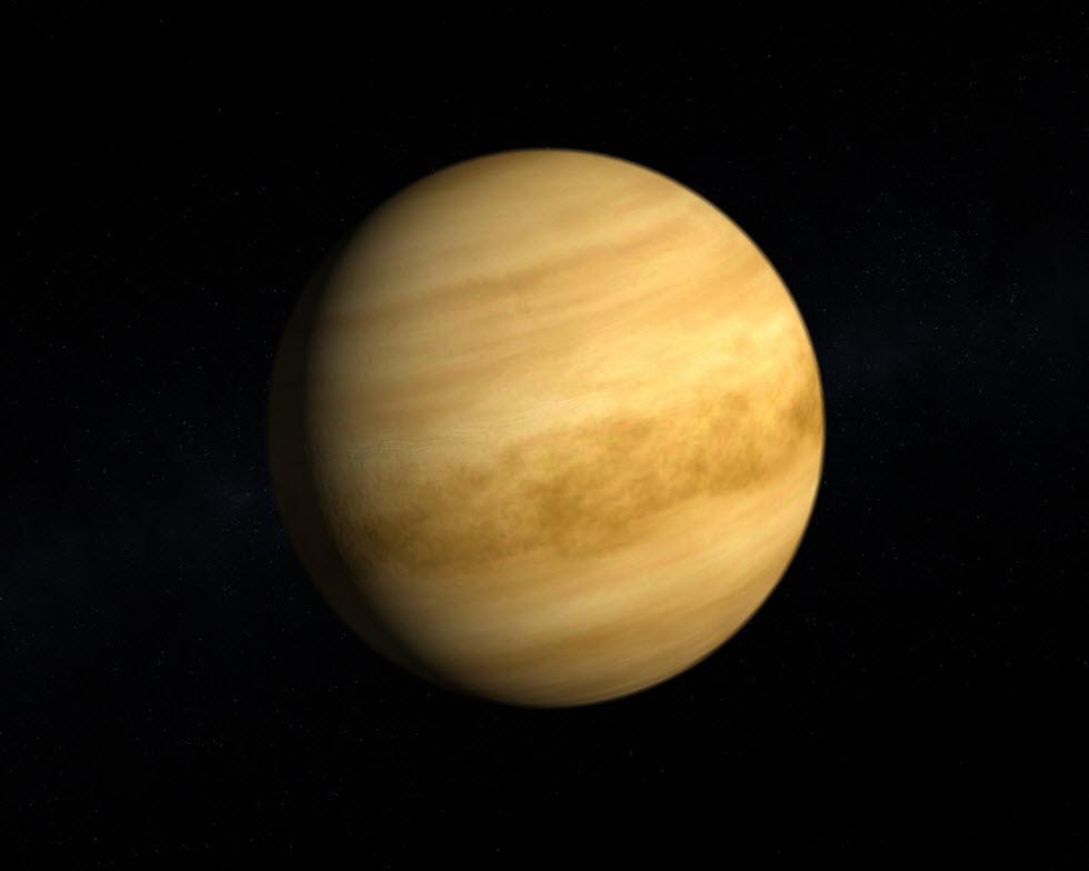 כוכב הלכת נוגה (צילום: Tristan3D)