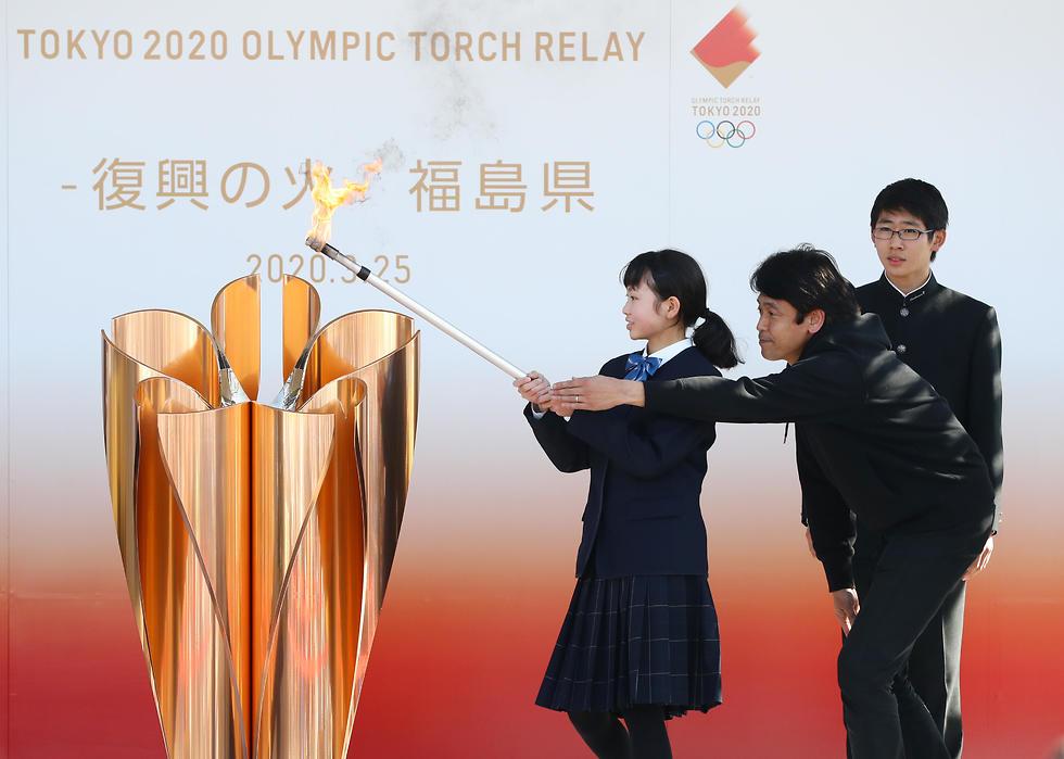 הלפיד האולימפי  (צילום: גטי אימג'ס)