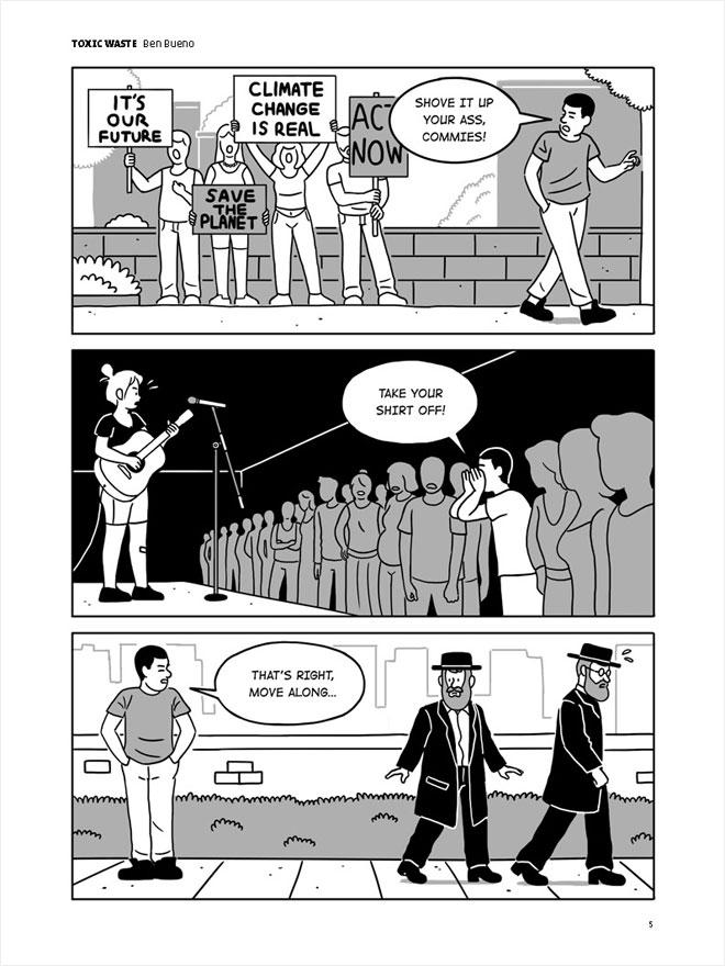 קומיקס: בן בואנו (באדיבות עומר הופמן)