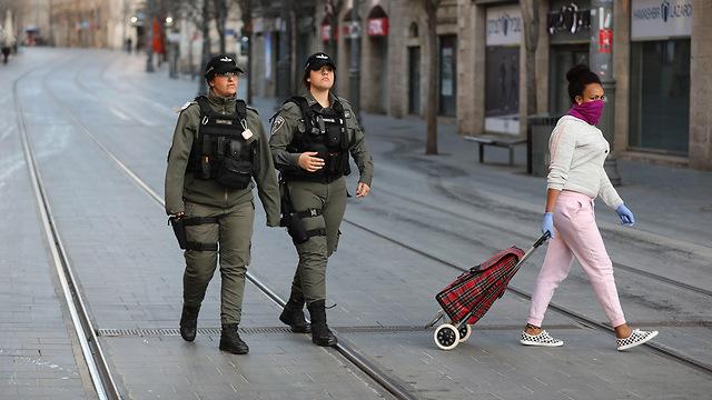 Иерусалим в карантине. Фото: EPA