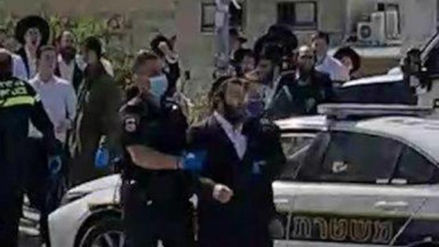 Задержание нарушителя режима ЧП в Модиин-Илите, 26.03.2020