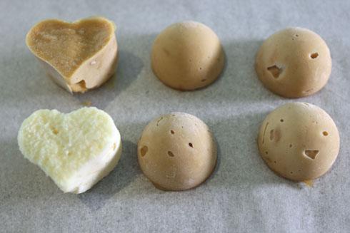 המלית הקפואה של כדורי השוקולד (צילום: אורה קורן)