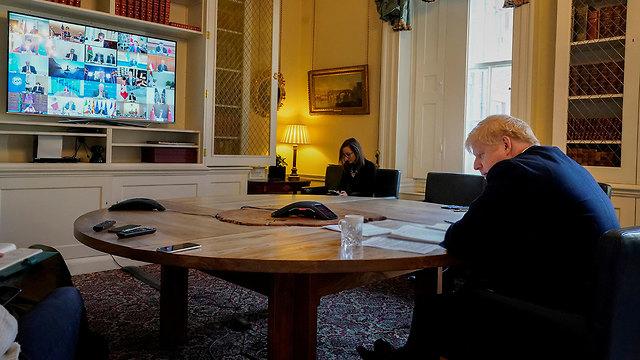 ועידת g20 בוידאו (צילום: רויטרס)