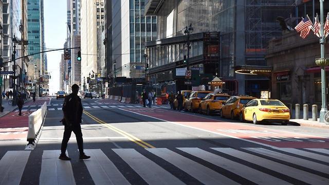 רחובות ניו יורק ריקים (צילום: ארז קולישבסקי)
