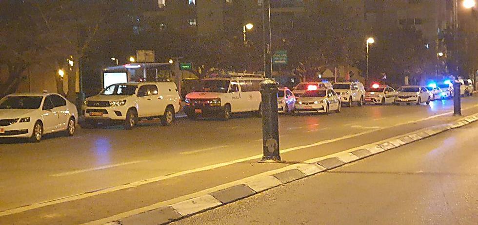 Полиция и ЯСАМ прибыли, но не вмешивались