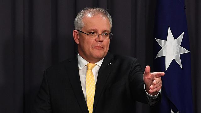 נגיף קורונה ראש ממשלת אוסטרליה סקוט מוריסון (צילום: gettyimages)