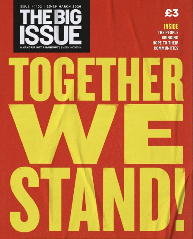 Big Issue, 23.3.2020