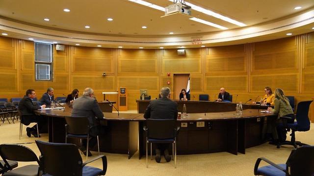 ועדת הקורונה בכנסת (צילום: עדינה ולמן, דוברות הכנסת)