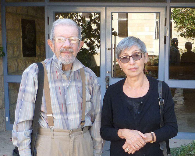 Лия и Иосиф Окунь. Фото: личный архив