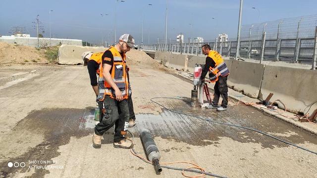 הנפות גשרים בנתיבי ישראל (צילום: נתיבי ישראל)
