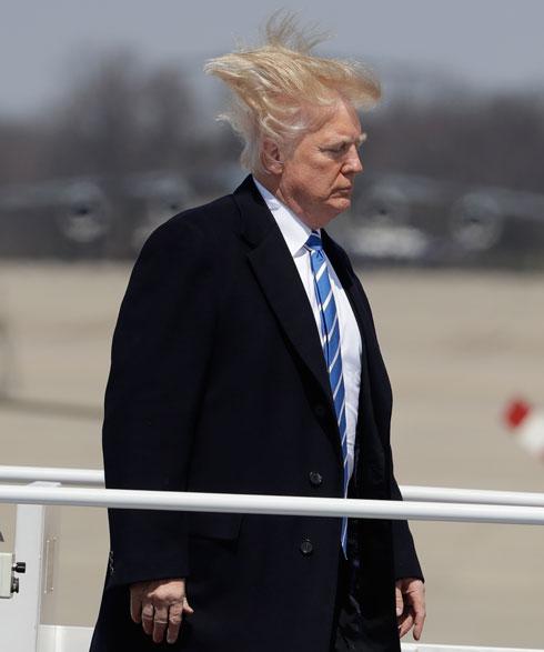 הולך נגד הרוח. דונלד טראמפ (צילום: AP)