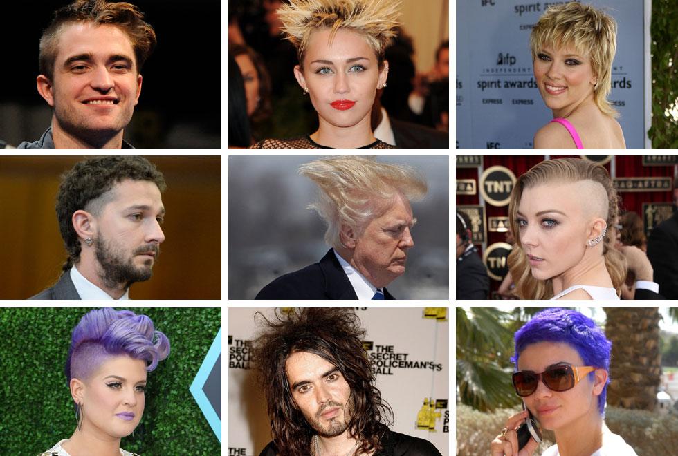 בימים של סגר ובידוד, כל יום הוא הזדמנות טובה ליום שיער רע. עם זאת, היו כאלה שעשו את זה עוד קודם (צילום: AP, Claire Greenway/GettyimagesIL, יגל בר קמא)