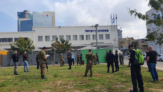 Солдаты ЦАХАЛа в полицейских патрулях