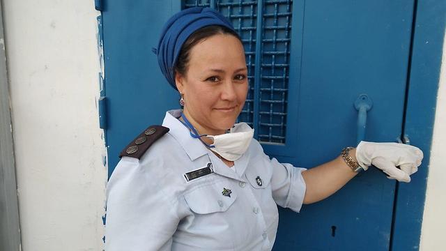 הילה אוחיון, סוהרת ועובדת סוציאלית כלא איילון (צילום: דוברות שב