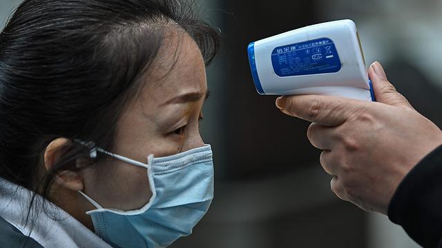 נגיף קורונה סין ווהאן (צילום: AFP)