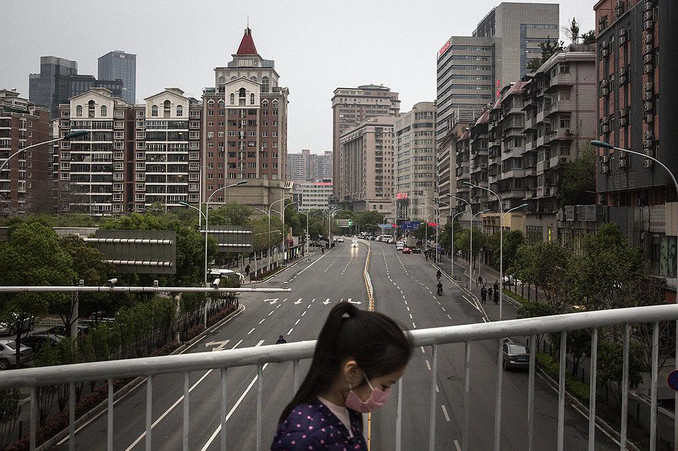 נגיף קורונה סין ווהאן (צילום: gettyimages)