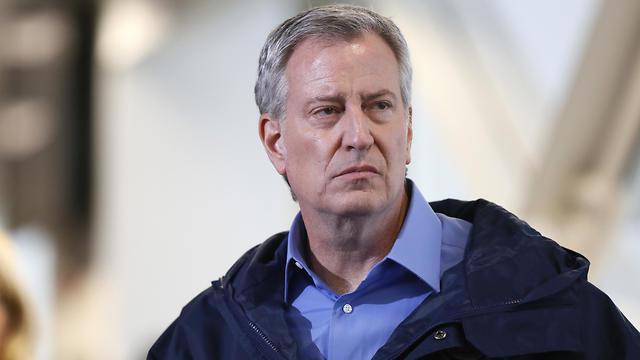 ראש העיר ניו יורק ביל דה בלזיו (צילום: רויטרס)