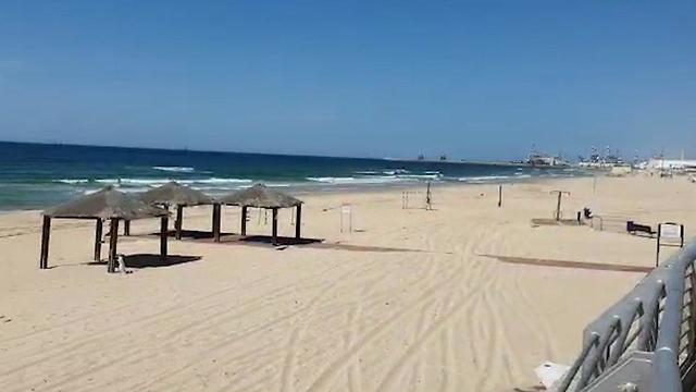 Пляж Хоф ха-Кшатот в Ашдоде. Фото: Шалом Арбели