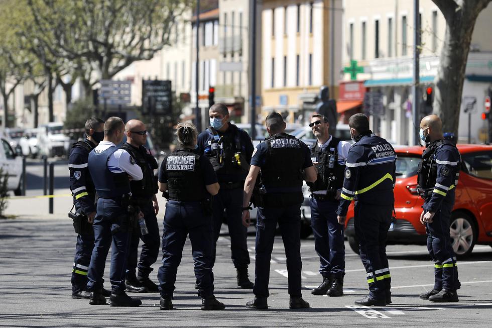 חשד ל פיגוע דרום מזרח צרפת עיירה רומו-סור-איזר (צילום: EPA)