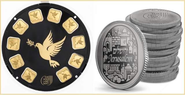 Монеты из престижных серий на израильскую тематику