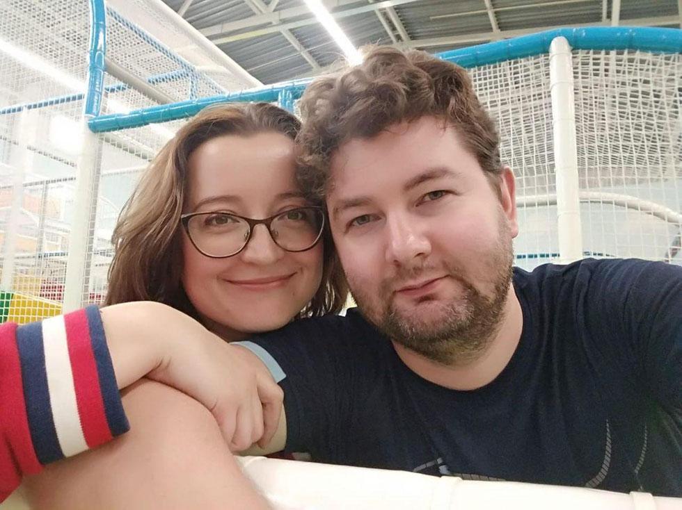 Виталий и Татьяна Рожневы. Фoто: семейный архив