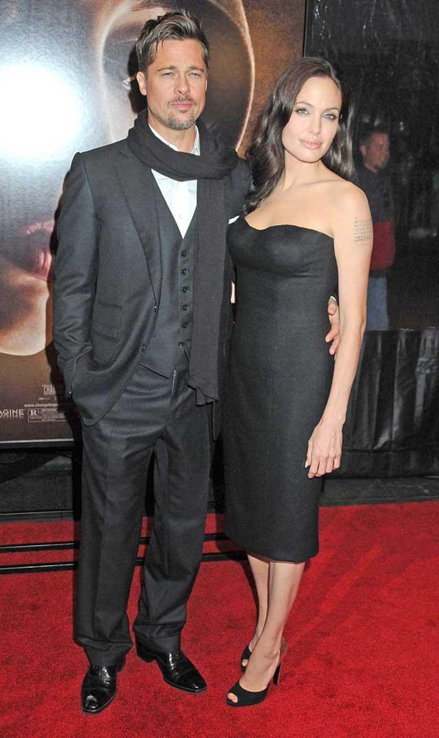 Бред Питт и Анджелина Джоли в туфлях от Росси. Фото: Everett Collection/Shutterstock
