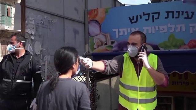 משרד הבריאות הודיע כעת כי לא אישר את פתיחת שוק תלפיות בחיפה בצל התפשטות הקורונה (צילום: אביהו שפירא)