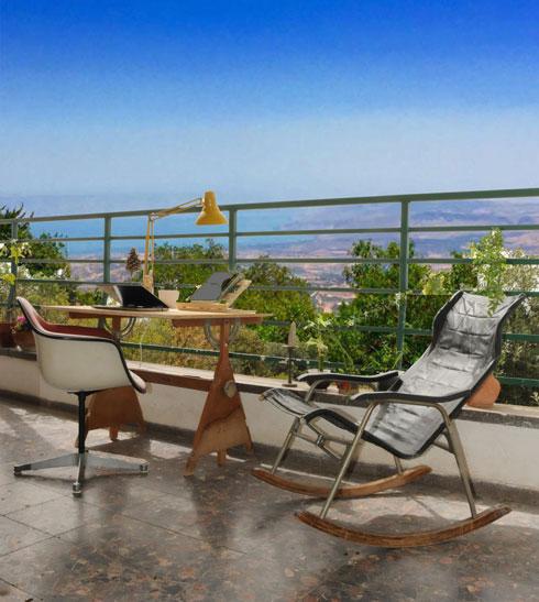 מיפו - לאמירים. בביתו של סמי שלום כנפו (צילום: נעמה כנפו)