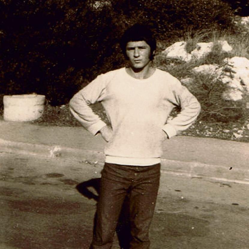 אמנון אברמוביץ' לפני הפציעה במלחמת יום הכיפורים