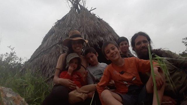 משפחת חנונה (צילום: מיכה חנונה)