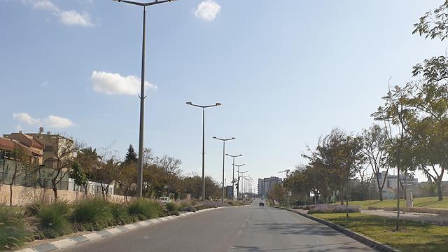 כבישים ריקים בבאר שבע בצל הקורונה (צילום: הרצל יוסף)