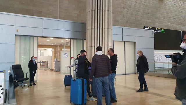 נוסעים מניו ג'רזי הגיעו לארץ ()