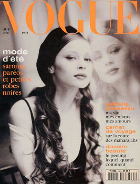 נינה ברוש (ויק) על שער ווג פריז
