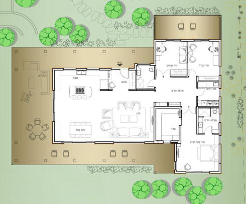 תוכנית הבית (תוכנית: אדריכלית מיה ארדל-מאיק)