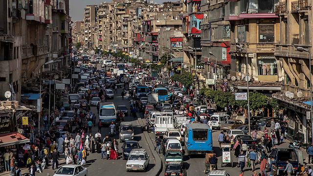 נגיף קורונה מצרים קהיר (צילום: AP)
