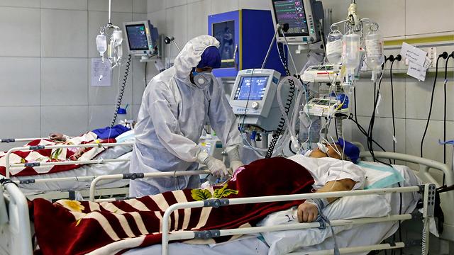 נגיף קורונה איראן טהרן (צילום: AP)
