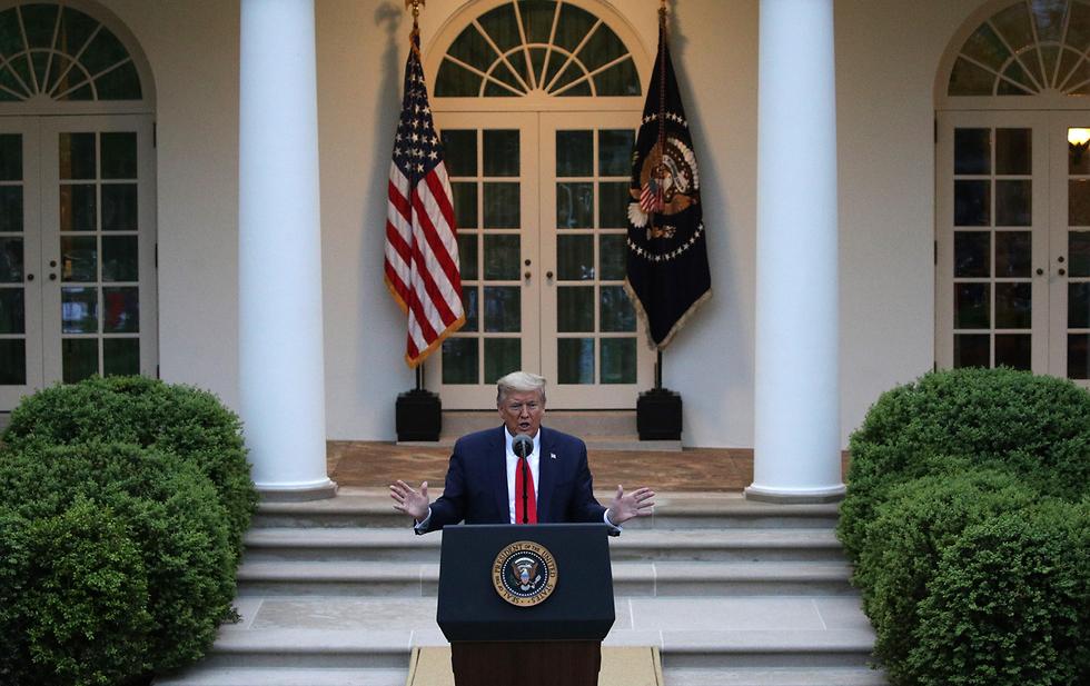 דונלד טראמפ (צילום: gettyimages)